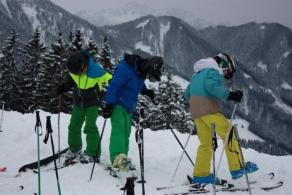 Skifreuden in Laterns