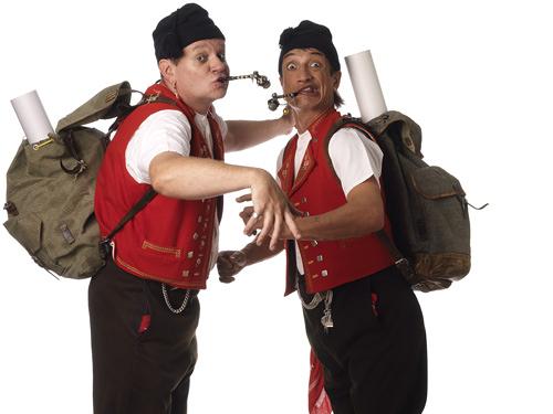 FADEGRAD Comedy-Duo Messer&Gabel