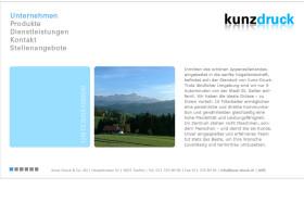 Kunz-Druck & Co. AG - Unternehmen - Internet Explorer 31.10.2014 062949