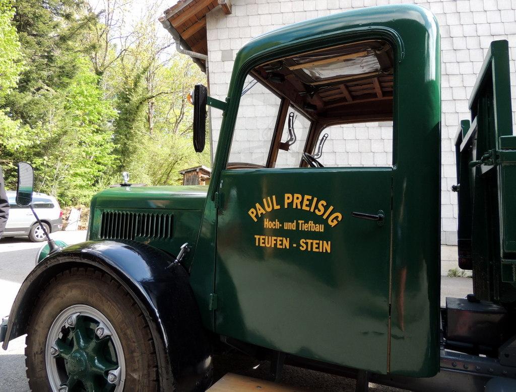 alte lastwagen
