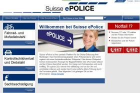 Willkommen bei Suisse ePolice