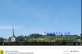 video Tüüfner Gassefescht