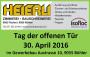 Einladung Tag der offenen Tuere Heierli AG