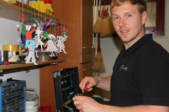 Aaron Lipp, Schulwart Niederteufen (2)