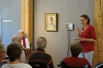 Cristina de Biasio fragt nach, Ulla Ahmann notiert die Gedanken, und so entsteht eine gemeinsame Geschichte.