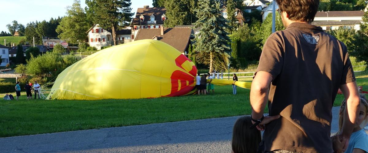 Ballonlandung 5