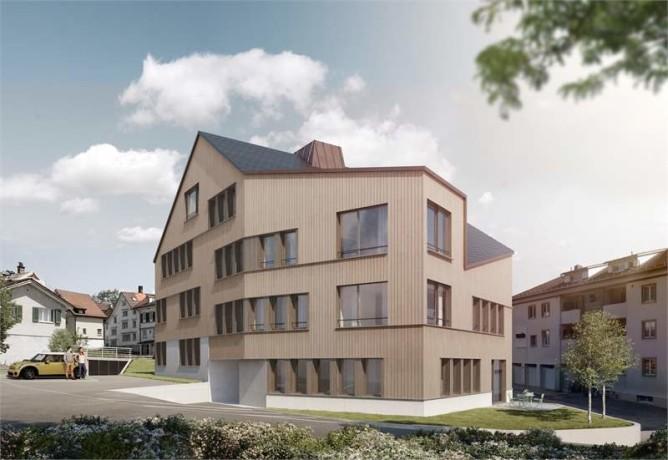 Neubau mehrfamilienhaus hecht tag der offenen t r for Mehrfamilienhaus neubau