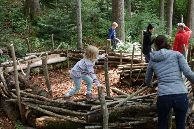 Waldkindergarten Waldsofa Waldfüsse Tüüfner Poscht Die
