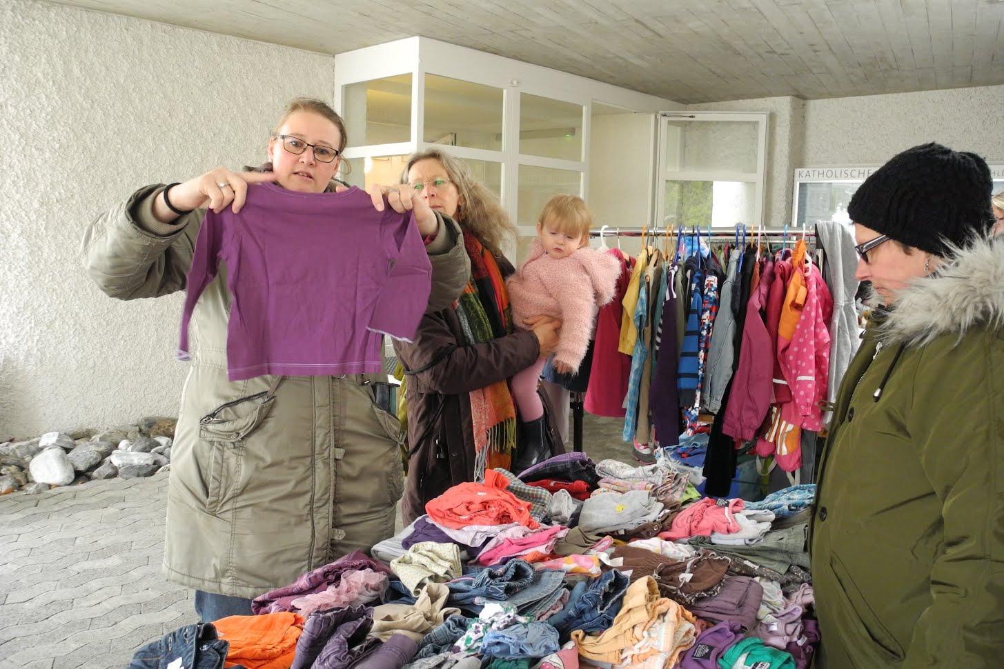 Neues Leitungsteam der Kinderkleider und Spielzeugbörse | Tüüfner ...